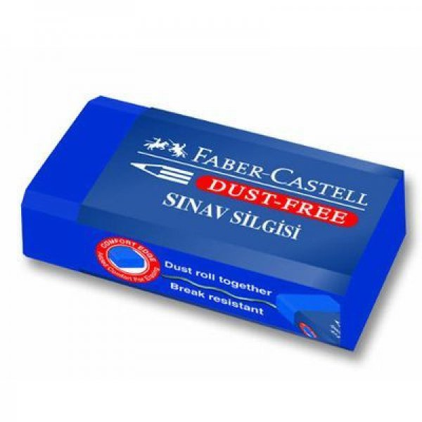 Mavi Sınav Silgisi Faber-Castell
