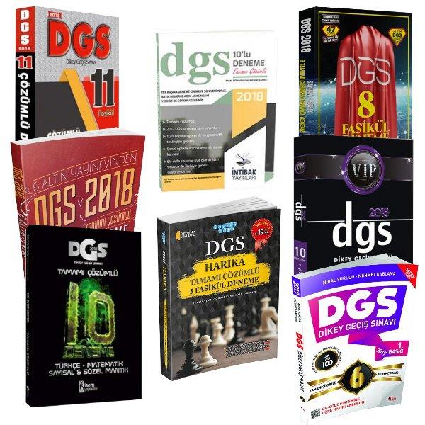 2018 DGS Editörlerimizin Seçimi 60+6 DGS Deneme Seti 1i Hediye 8 Ayrı Ürün