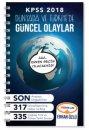 2018 KPSS Dünyada ve Türkiye'de Güncel Olaylar Yediiklim Yayınları