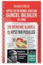 2018 KPSS'nin Pusulası Genel Kültür Güncel Bilgiler Doğru Tercih Yayınları