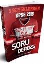 2018 KPSS 5 Büyüklerden Genel Yetenek Genel Kültür Soru Derbisi Benim Hocam Yayınları