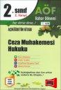 Yargı Yayınları Açıköğretim 2.Sınıf 2.Yarıyıl Ceza Muhakemesi Hukuku 4106