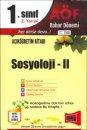 Yargı Yayınları  Açıköğretim 1.Sınıf 2.Yarıyıl Sosyoloji-II 2160