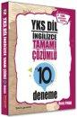 YKSDİL İngilizce Tamamı Çözümlü 10 Deneme Tercih Akademi Yayınları