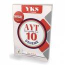 YKS 2. Oturum AYT 10 Deneme Sayısal Öğrencileri için Pelikan Yayınları