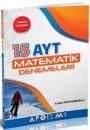 AYT Matematik Tamamı Çözümlü 15 Deneme Apotemi Yayınları