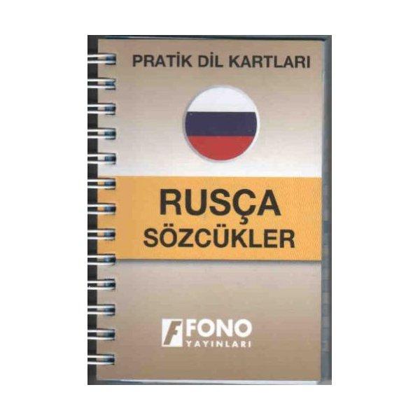 Pratik Dil Kartları Rusça Sözcükler