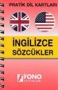 Pratik Dil Karti İngilizce Sözcükler