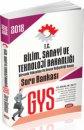 Bilim, Sanayi ve Teknoloji Bakanlığı GYS Soru Bankası Data Yayınları