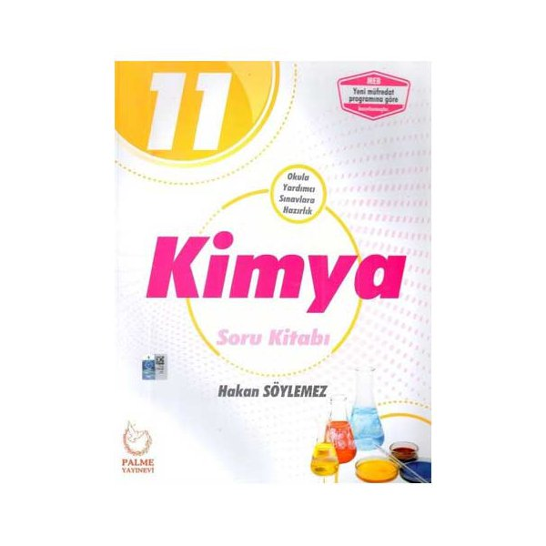 11. Sınıf Kimya Soru Kitabı Palme Yayınları