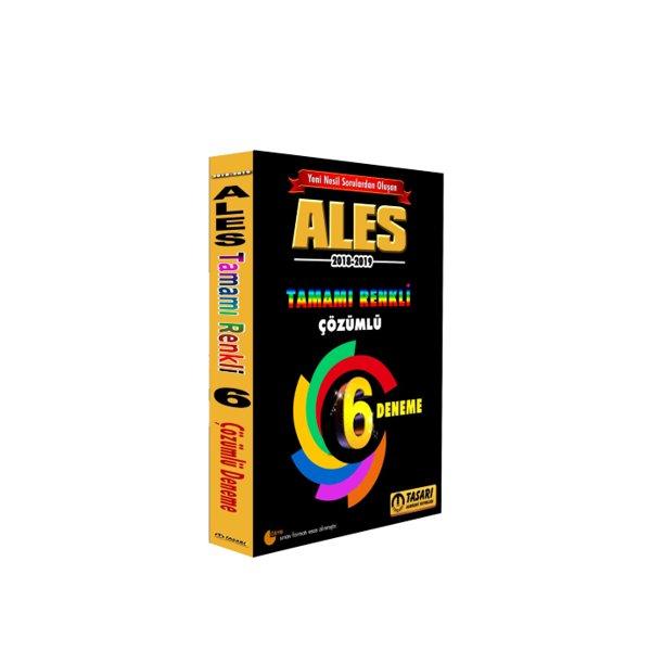 2018 ALES Yeni Nesil 6 Renkli Fasikül Çözümlü Deneme Tasarı Yayınları