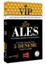 2019 ALES VIP Yeni Sınav Sistemine Göre Tamamı Çözümlü 5 Deneme Yargı Yayınları