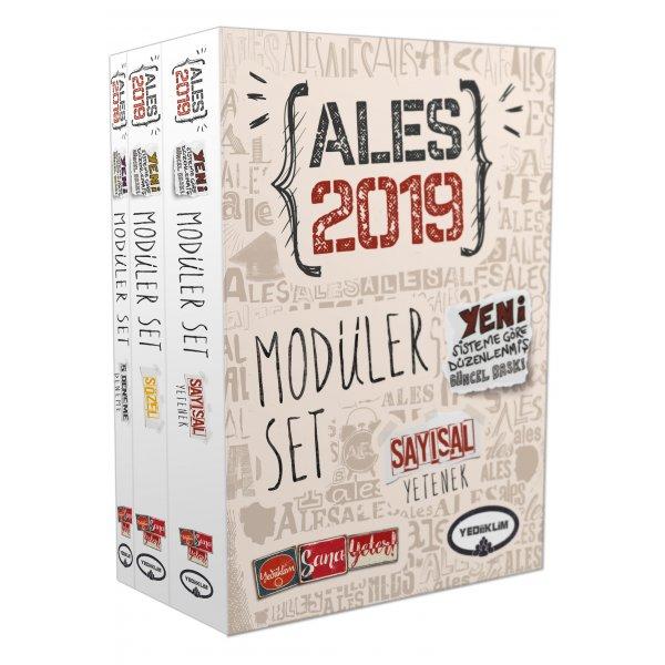 2019 ALES Konu Anlatımlı Modüler Set Yediiklim Yayınları