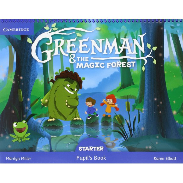 Greenman and the Magic Forest Starter Pupils Book with