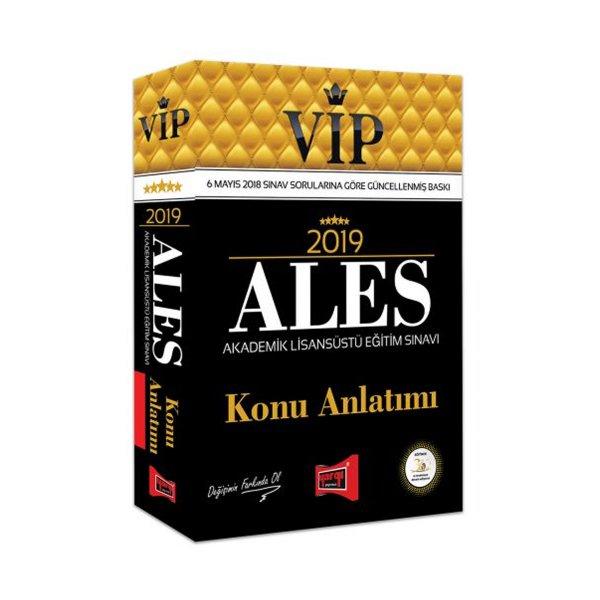 2019 ALES VIP Konu Anlatımı Yargı Yayınları