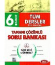 6. Sınıf Tüm Dersler Tamamı Çözümlü Soru Bankası Data Yayınları *