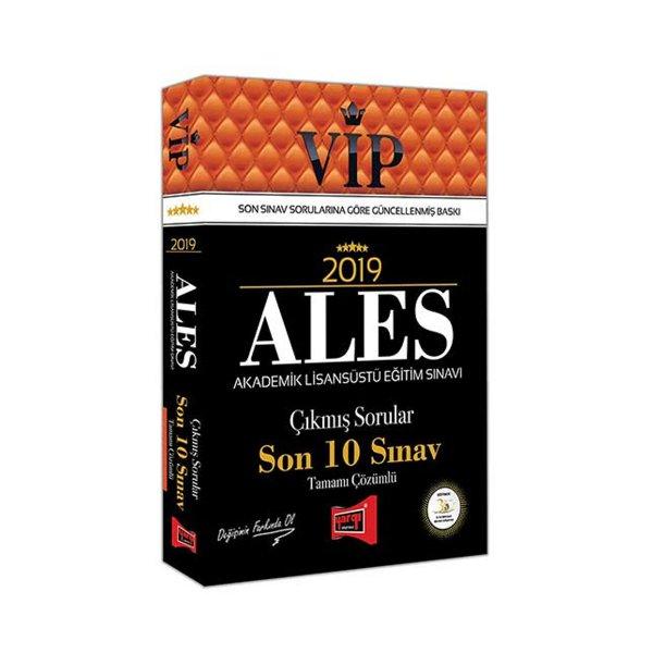 2019 ALES VIP Tamamı Çözümlü Son 10 Sınav Çıkmış Sorular Yargı Yayınları