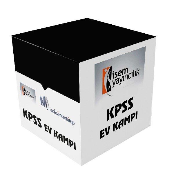 2019 KPSS İçin Erken Hazırlık Öğretmen Adaylarına Özel Ev Kampı Kitapları İsem Yayınları 26 Kitap