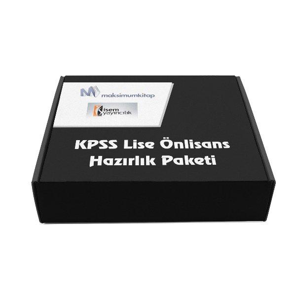 2018 KPSS Lise Önlisans Hazırlık Paketi İsem Yayınları 9 Kitap