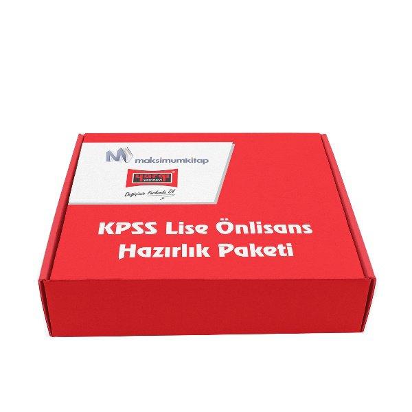 2018 KPSS Lise Önlisans Hazırlık Paketi Yargı Yayınları 5 Kitap