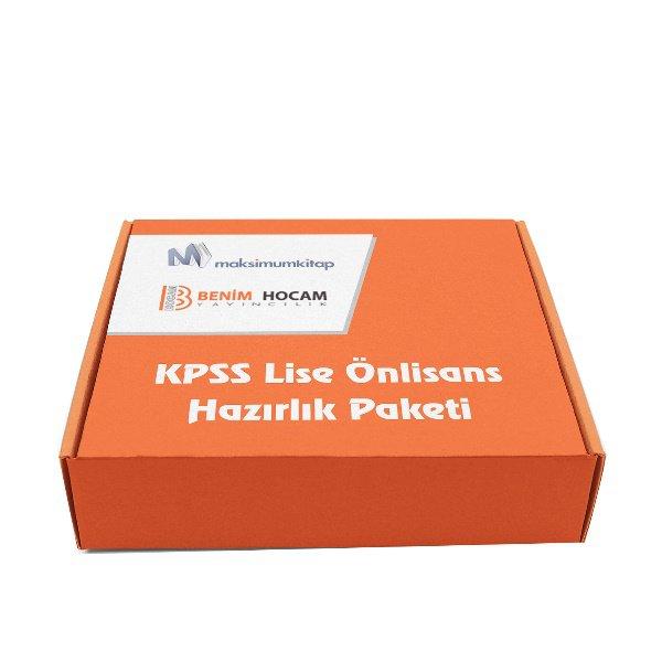 2018 KPSS Lise Önlisans Hazırlık Paketi Benim Hocam Yayınları 11 Kitap