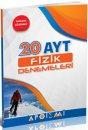 YKS 2. Oturum AYT Fizik Tamamı Çözümlü 20 Deneme Apotemi Yayınları
