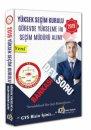 2018 YSK Seçim Müdürü Alımı Dev Soru Bankası Next Level Kariyer Yayınları