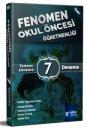 2018 ÖABT Fenomen Okul Öncesi Öğretmenliği Tamamı Çözümlü 7 Deneme RY Rektör Yayınları