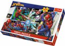 Trefl Puzzle 160 Parça Spiderman To The Rescue, Marvel Puzzle
