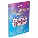 2018 KPSS Temel Yurttaşlık Bilgisi Çek Kopart Yaprak Testler Murat Yayınları