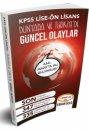 KPSS Lise Ön Lisans Dünyada ve Türkiye'de Güncel Olaylar Yediiklim Yayınları