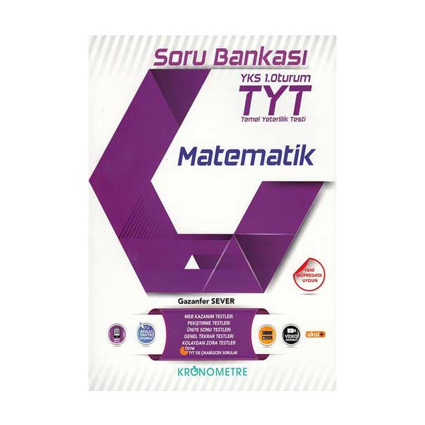 TYT Matematik Soru Bankası Kronometre Yayınları