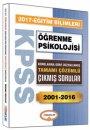 2017 KPSS Eğitim Bilimleri Öğrenme Psikolojisi Konularına Göre Düzenlenmiş Tamamı Çözümlü Çıkmış Sorular Yediiklim Yayınları
