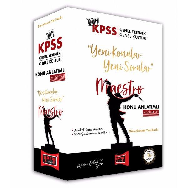 2020 KPSS ye Uygun 2019 KPSS GY-GK Lisans - Lise Önlisans Tüm Dersler Maestro Konu Anlatımlı Set 5 Kitap Yargı Yayınları