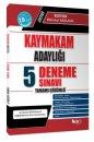 2018 Kaymakam Adaylığı Tamamı Çözümlü 5 Deneme Sınavı Hür Yayınları
