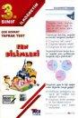 3. Sınıf Fen Bilimleri Çek Kopart Yaprak Test Açı Yayınları