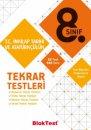 8. Sınıf T.C. İnkılap Tarihi ve Atatürkçülük Tekrar Testleri Bloktest Yayınları