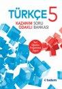 5. Sınıf Türkçe Kazanım Odaklı Soru Bankası Tudem Yayınları