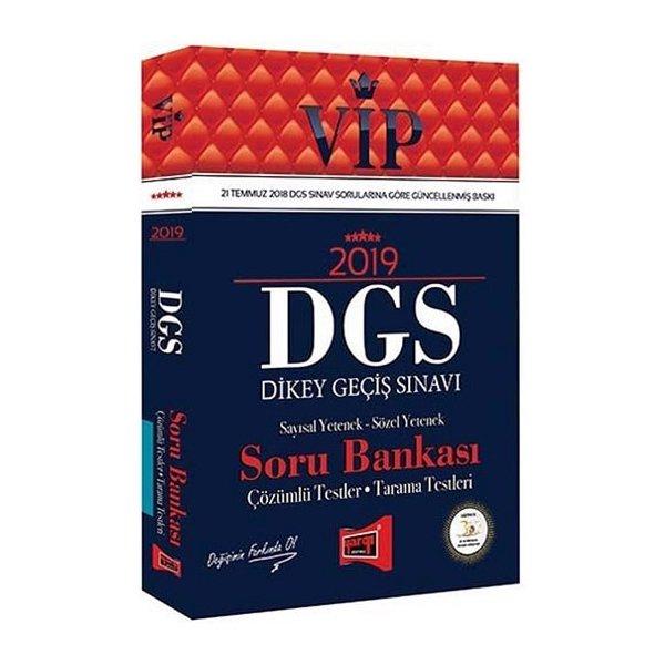 2019 DGS VIP Sayısal Sözel Yetenek Soru Bankası Yargı Yayınları