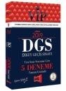 2019 DGS VIP Yeni Sınav Sistemine Göre Tamamı Çözümlü 5 Deneme Yargı Yayınları