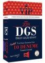 2019 DGS VIP Tamamı Çözümlü 10 Fasikül Deneme Yeni Sınav Sistemine Göre Yargı Yayınları