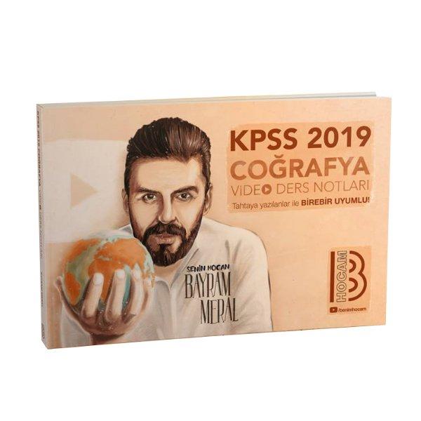 2019 KPSS Coğrafya Video Ders Notları Bayram Meral Benim Hocam Yayınları
