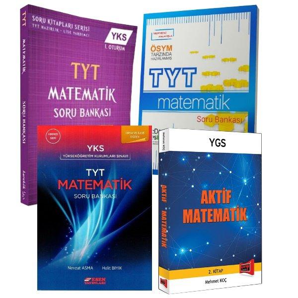 TYT Matematik Kazandıran Soru Seti Karekök Esen Üç Dört Beş Yayınları Aktif Matematik Kitabı Hediyeli