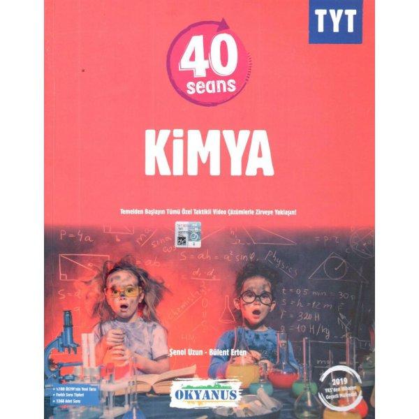 TYT 40 Seans Kimya Soru Bankası Okyanus Yayınları