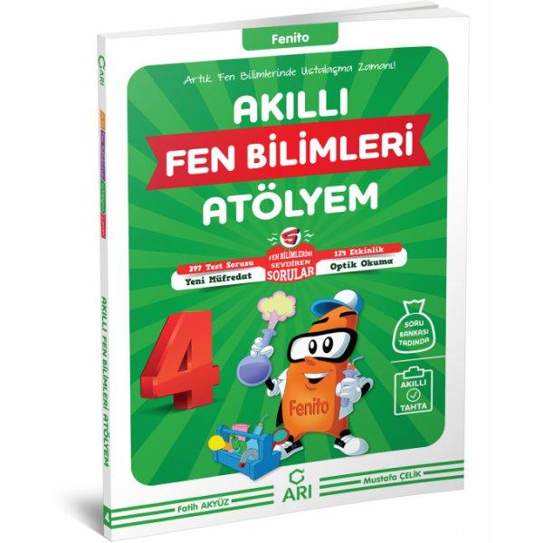 4. Sınıf Akıllı Fen Bilimleri Atölyem Fenito Arı Yayınları