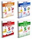 5. Sınıf Akıllı Defter Serisi Arı Yayınları 4 Kitap
