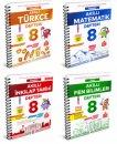 8. Sınıf LGS Akıllı Defter Serisi Arı Yayınları 4 Kitap