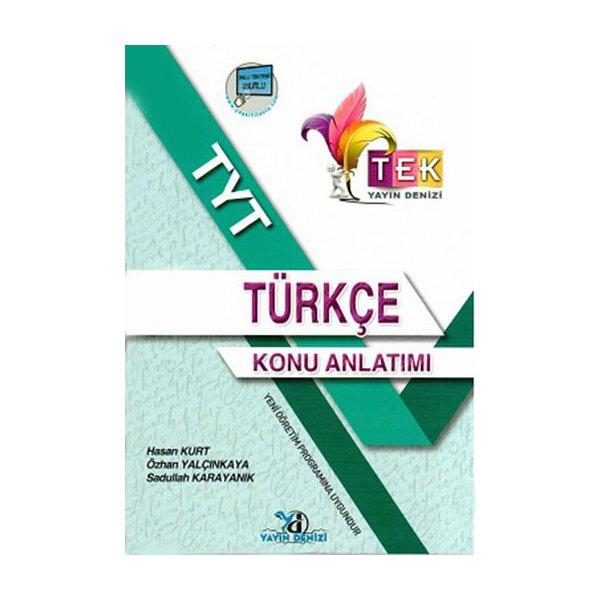 TYT TEK Serisi Türkçe Konu Anlatımlı Yayın Denizi Yayınları