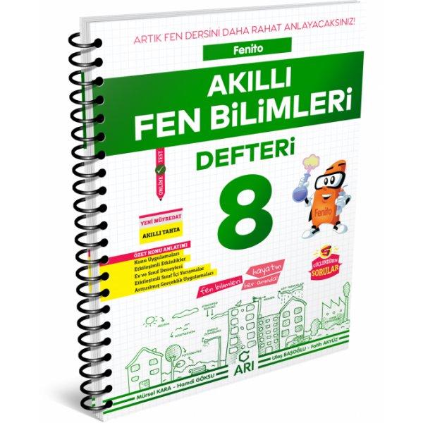 Fenito Akıllı Fen Bilimleri Defteri 8. Sınıf LGS Arı Yayınları