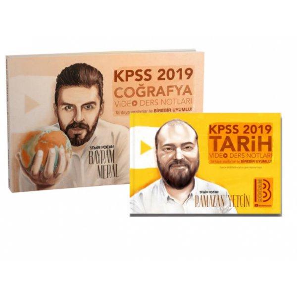 2019 KPSS Coğrafya Tarih Video Ders İkilisi Ramazan Yetgin Bayram Meral Benim Hocam Yayınları